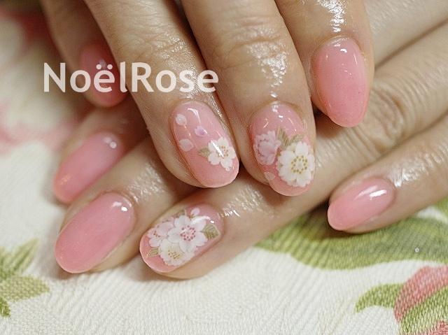 桜ネイル❤
